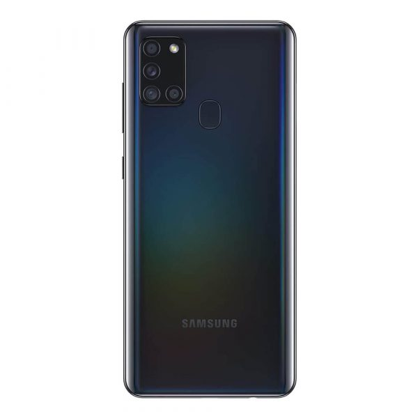 Camara cuadruple Samsung A21s